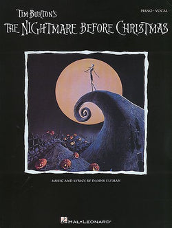 Tim Burton's The Nightmare Before Christmas (Piano/Vocal) - Canada