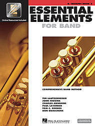 Essential Elements For Band - Bb Trumpet, Book 2 (w/CD & EEi) - Canada