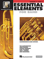 Essential Elements For Band - Baritone T.C., Book 2 (w/CD & EEi) - Canada