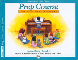 Alfred's Prep Course - Lesson Book (Level B) For the Young Beginner - Canada