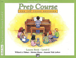 Alfred's Prep Course - Lesson Book (Level C) For the Young Beginner - Canada
