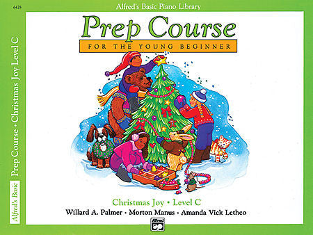 Alfred's Prep Course for the Young Beginner - Christmas Joy Level C - Canada