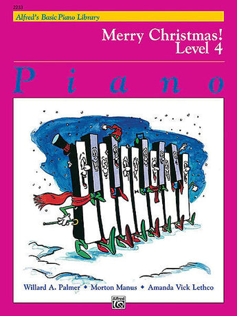 Alfred's Basic Piano Library Merry Christmas! Level 4 - Canada