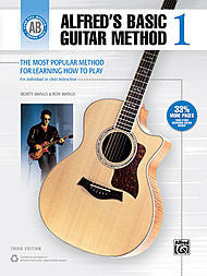Alfred's Basic Guitar Method - Book 1 - Canada