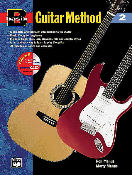 Basix Guitar Method - Book 2 (w/CD) - Canada