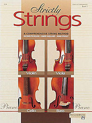 Strictly Strings - Piano Accompaniment, Book 1 - Canada