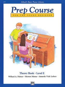 Alfred's Basic Piano Prep Course Theory, Book E For the Young Beginner - Canada