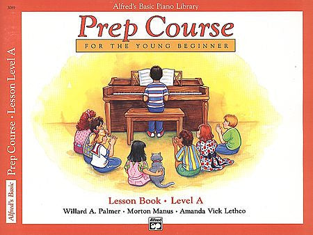 Alfred's Prep Course - Lesson Book (Level A) For the Young Beginner - Canada