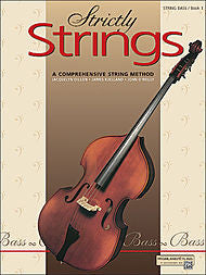Strictly Strings - Bass, Book 1 - Canada