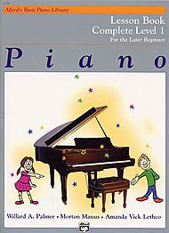 Alfred's Basic Piano Library - Lesson Book Complete Level 1 - Canada