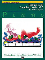 Alfred's Basic Piano Library - Technic Book Complete Levels 2&3 - Canada