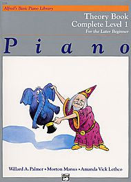 Alfred's Basic Piano Library - Theory Book Complete Level 1 - Canada