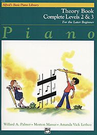 Alfred's Basic Piano Library - Theory Book Complete Levels 2&3 - Canada