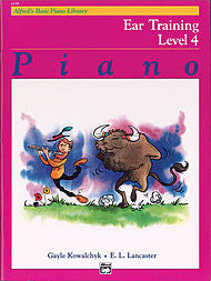 Alfred's Basic Piano Library - Ear Training Book Level 4 - Canada