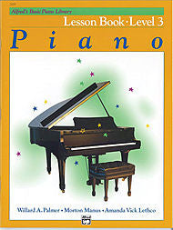 Alfred's Basic Piano Course - Lesson Book, Level 3 - Canada