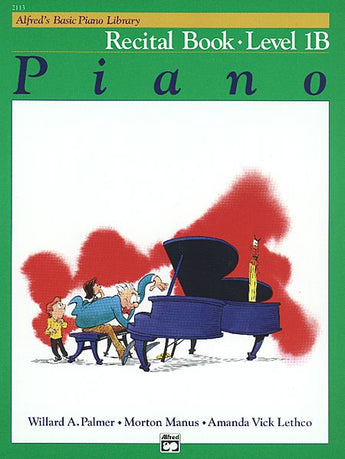 Alfred's Basic Piano Course - Recital Book (Level 1B) - Canada
