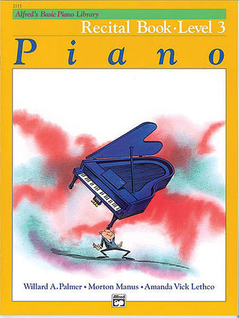 Alfred's Basic Piano Course - Recital Book (Level 3) - Canada