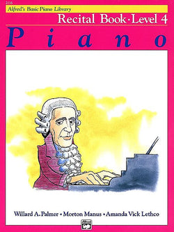 Alfred's Basic Piano Course - Recital Book (Level 4) - Canada