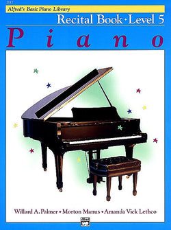 Alfred's Basic Piano Course - Recital Book (Level 5) - Canada