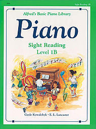 Alfred's Basic Piano Library - Sight Reading Level 1B - Canada