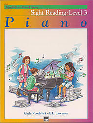 Alfred's Basic Piano Library - Sight Reading Level 3 - Canada