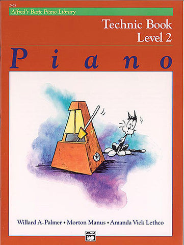 Alfred's Basic Piano Course - Technic Book, Level 2 - Canada