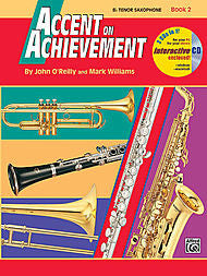 Accent On Achievement - Bb Tenor Sax, Book 2 (w/CD) - Canada