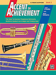 Accent On Achievement - Bb Tenor Sax, Book 3 - Canada