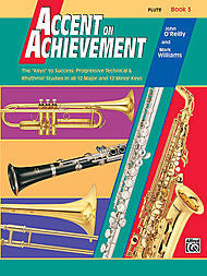Accent On Achievement - Flute, Book 3 - Canada