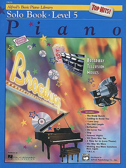 Alfred's Basic Piano Course - Top Hits! Solo Book, Level 5 - Canada