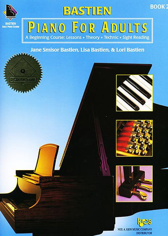 Bastien Piano For Adults - Book 2 (Book & CD) - Canada