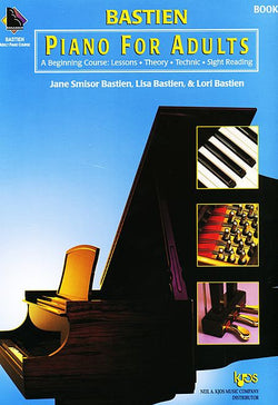 Bastien Piano For Adults - Book 2 (Book Only) - Canada