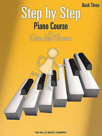 Step by Step Piano Course - Book 3 - Canada
