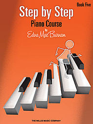 Step by Step Piano Course - Book 5 - Canada