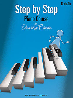 Step by Step Piano Course - Book 6 - Canada