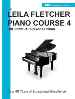 Leila Fletcher Piano Course, Book 4 - Canada