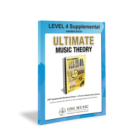 Ultimate Music Theory Level 4 Supplemental Answer Book