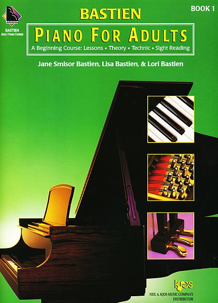 Bastien Piano For Adults - Book 1 (Book Only) - Canada