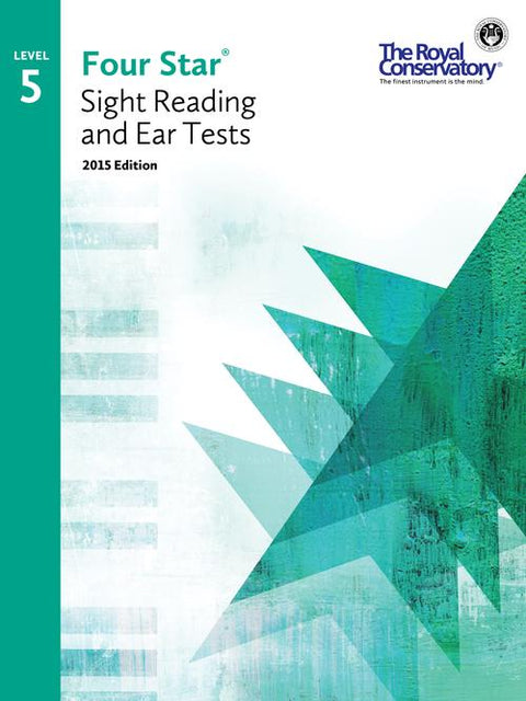 RCM Four Star Sight Reading & Ear Tests - Level 5