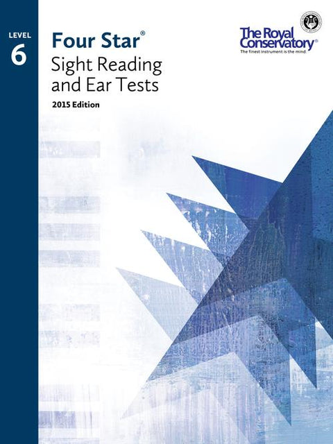 RCM Four Star Sight Reading & Ear Tests - Level 6