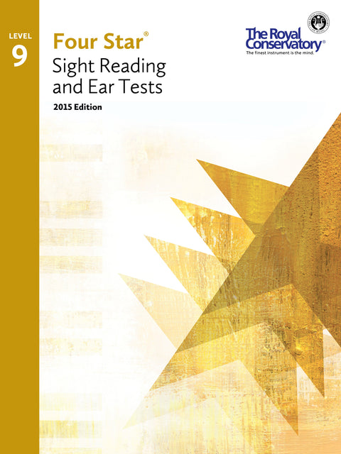 RCM Four Star Sight Reading & Ear Tests - Level 9