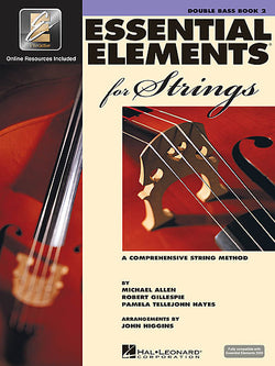 Essential Elements 2000 for Strings - Book 2 (String Bass) - Canada
