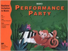 Bastiens' Invitation to Music - Performance Party Book D - Canada