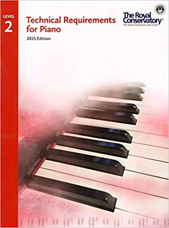 RCM Technical Requirements for Piano - Level 2