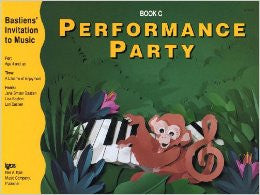 Bastiens' Invitation to Music - Performance Party Book C - Canada