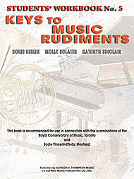 Keys to Music Rudiments - Students' Workbook No. 5 - Canada