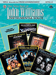 The Very Best of John Williams - Book/CD (Viola/Piano Acc.) - Canada