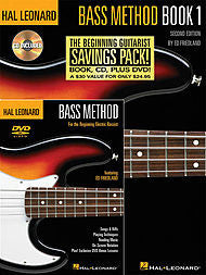 Hal Leonard Bass Method Beginner's Pack Book 1 - Canada