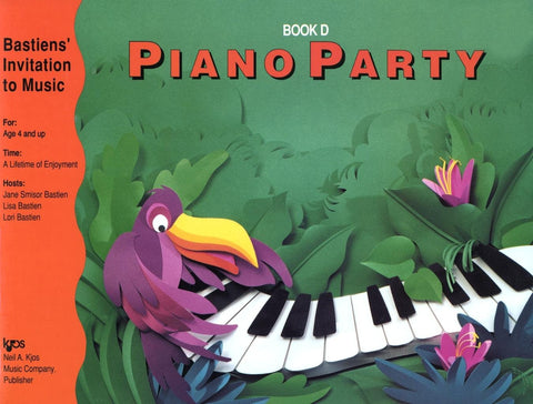 Bastiens' Invitation to Music - Piano Party Book D - Canada