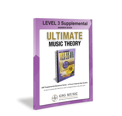 Ultimate Music Theory Level 3 Supplemental Answer Book